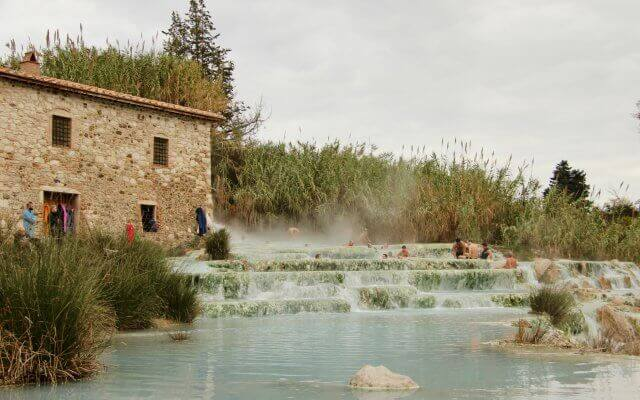 The thermal baths of Saturnia